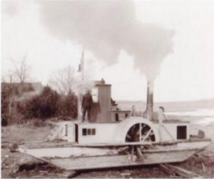 Alligator Tug Boat Canadian Logging History