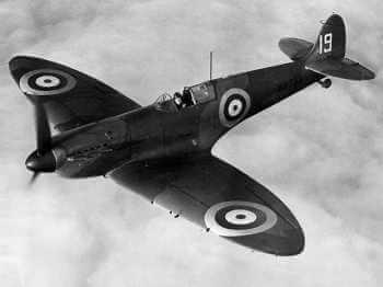 Battle of Britain Fighter Plane