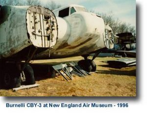 Burnelli CBY3 at New England Air Musuem