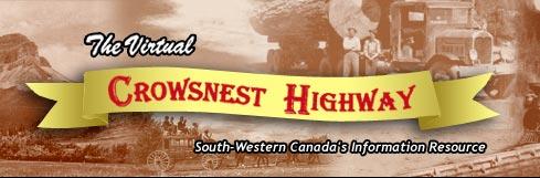 Crownest Highway banner