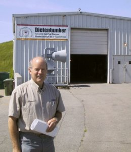 Dave Peters at The Diefenbunker