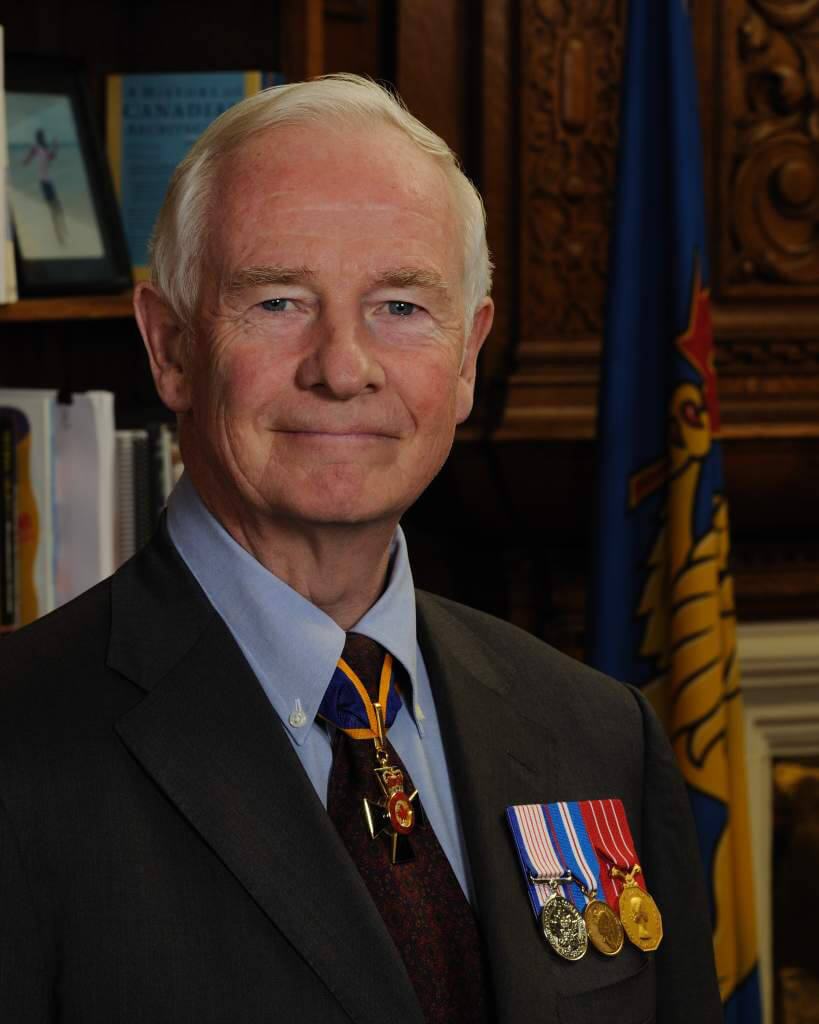 David Johnston current governor general of canada