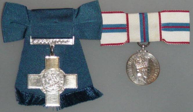 Doreen Ashburnham Albert Cross and George Cross