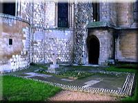 Final location of Edith Cavells Grave Memorial