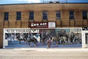 Jumbo The Elephant Mural