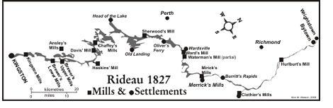 Rideau Canal Canada 1827