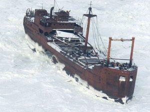 SS Ithaca Ice