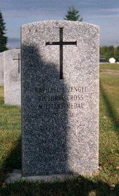 Sergeant Raphael Louis Zengel Grave Site