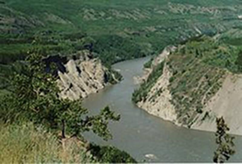 Image of Telegraph Creek on the Stikine River
