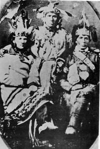 The Metis Treaty Photo