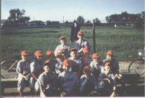 Image of 1960 Little League Champs Trenton Air Base