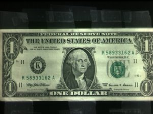 US dollar Green Ink used on greenbacks