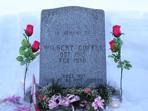 Wilbert Coffin Grave marker