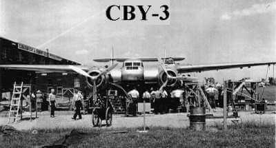 CBY-3 Burnelli Airplane
