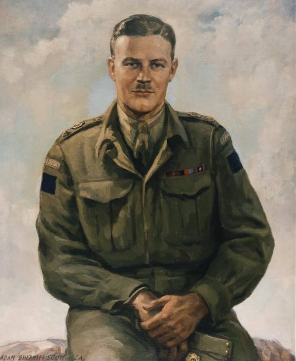 Painting of Charles Merritt