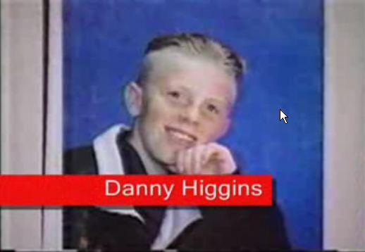 Danny Higgins lost boy of Pickering