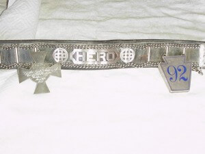 SS Ethie Hero Dog Collar