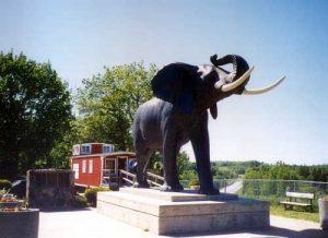 Jumbo The Elephant Statue