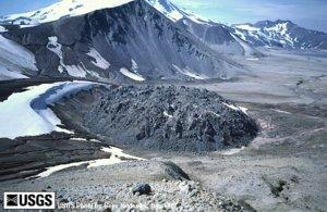 Picture of the Novarupta Volcano Dome
