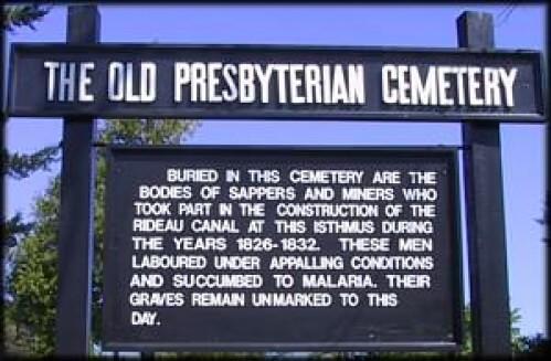 Old Presbyterian Cemetery Malaria in Canada