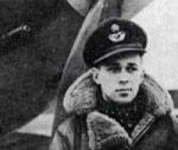 Richard Rohmer in flight jacket