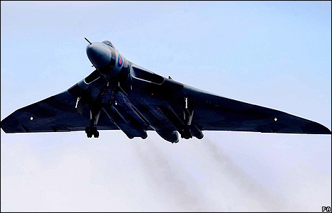 British Vulcan Fighter Jet