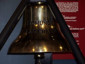 Ships Bell from the Edmund Fitzgerald, Great Lakes Shipwreck Museum, Whitefish Point, Michigan