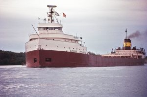 Photo of The Edmund Fitzgerald in 1971