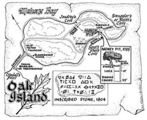 Treasure Map of Oak Island