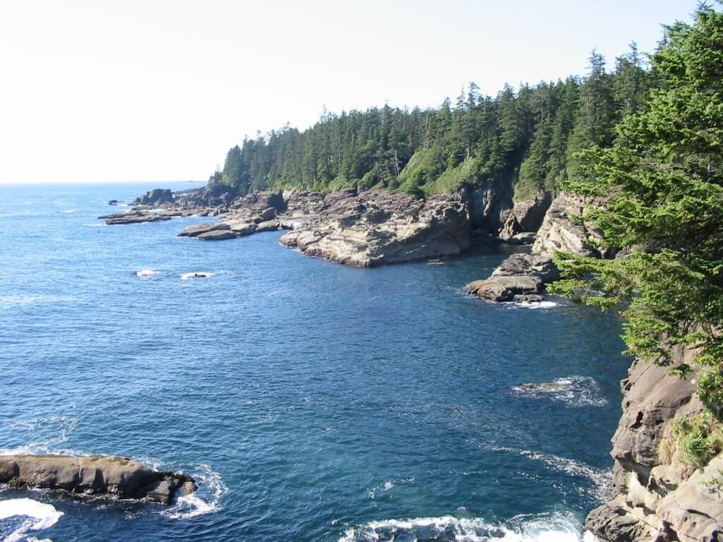 The west coast of Vancouver Island, BC.