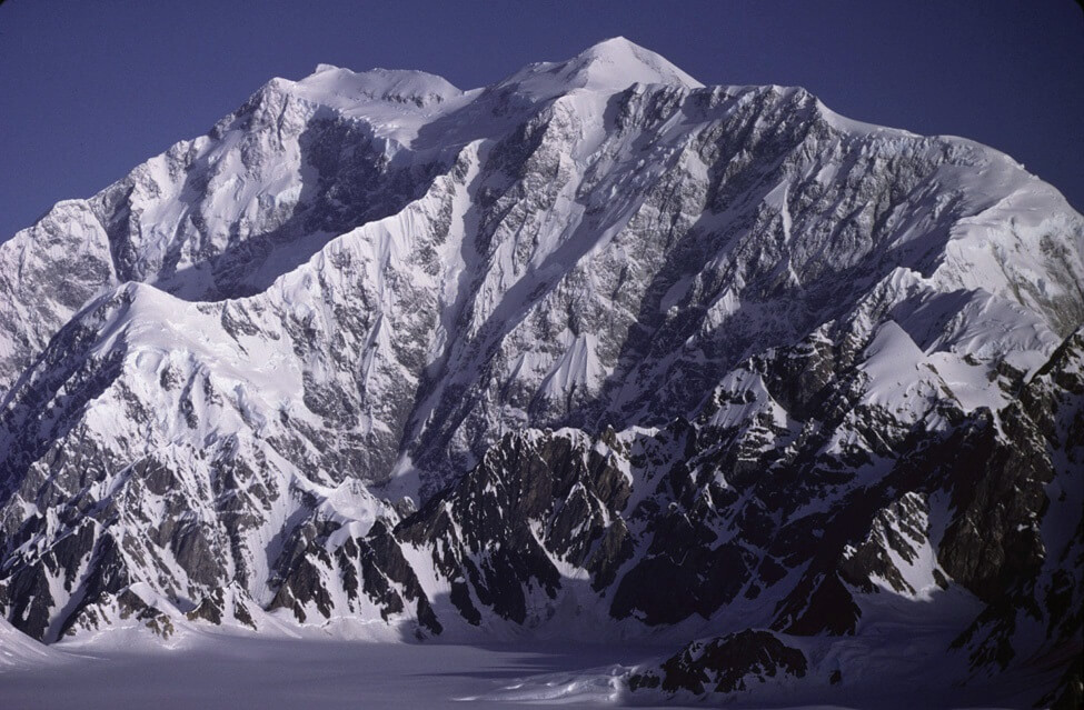 Image of Yukon- Canada's highest mountain, Mount Logan.