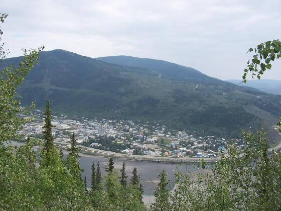 Dawson City today.