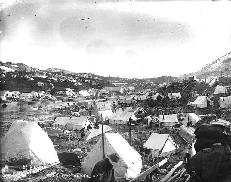 Lake Bennett, 1898.