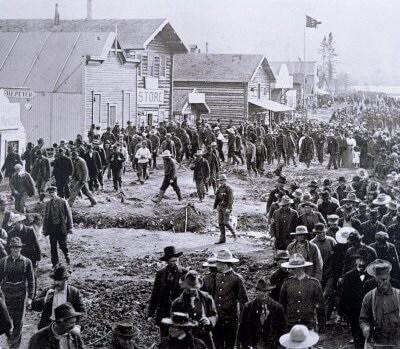 Dawson City.