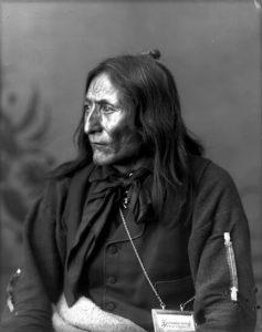 Siksika Blackfoot chief Crowfoot.