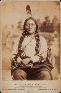Hunkpapa Sioux chief Sitting Bull.