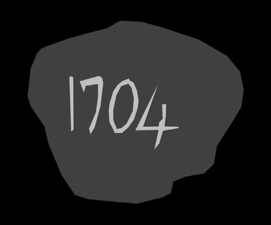 Oak Island's '1704 stone'.